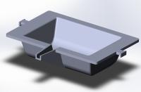 3д-модель литой детали