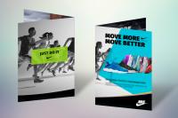 Дизайн гарантийного талона Nike