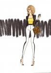 #1 fashion illustration