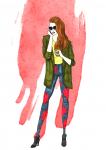 #3 fashion illustration