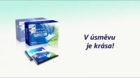 Заставка рекламы полосок для отбеливания зубов