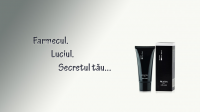 Заставка рекламного ролика крем-маски BLACKMASK