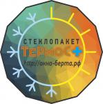 "Визуализация стеклопакета ""Термос+"" для компании ""Окна Берта"""