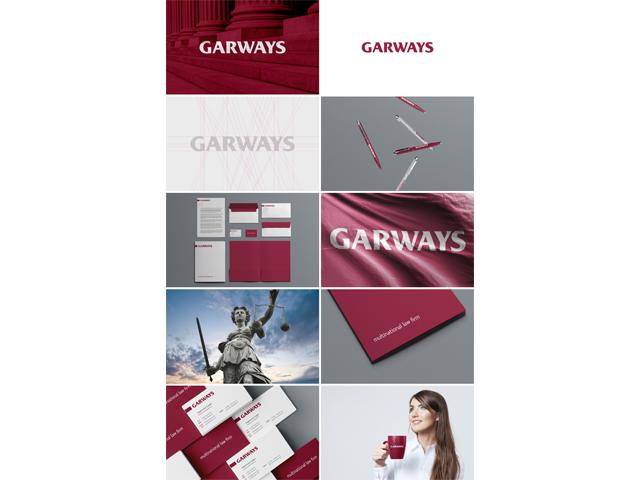 Фирменный стиль для юридической компании «Garways»