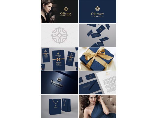 Фирменный стиль для ювелирного бренда «Odintsov»