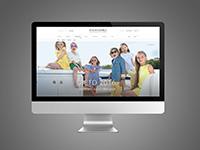 Дизаин сайта детской одежды.