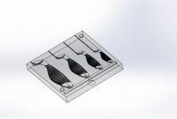 Форма под силиконовые рыбки