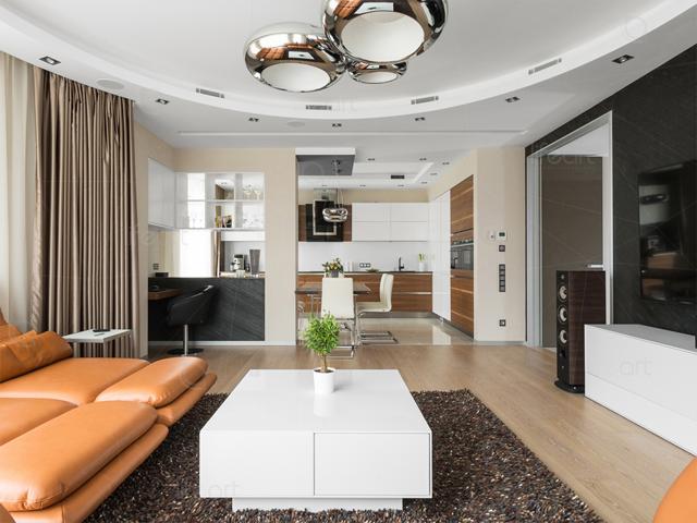 Дизайн гостиной в немецком стиле