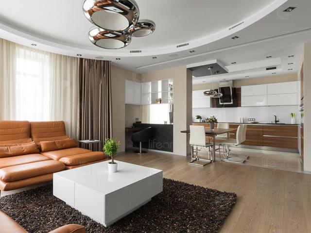 Дизайн квартиры в Парадном квартиле