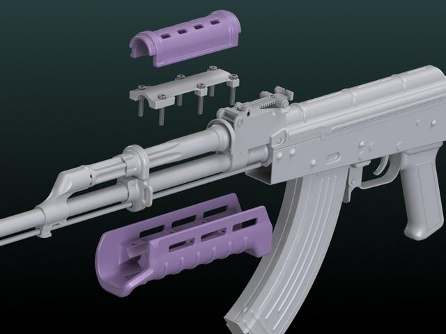 """Цевье """"MOE® AKM Hand Guard"""""""