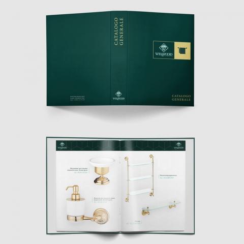 """Дизайн и верстка каталога """"WellWood"""