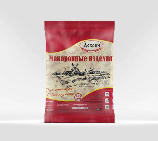 Упаковка для макарон