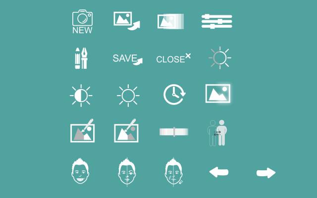 Иконки для графического приложения