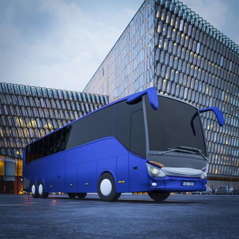 Автобус 3D