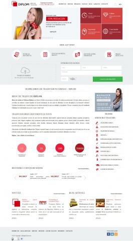 Информационный сайт Diplom