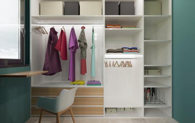 Дизайн гардероба с учетом всех размеров ГОСТ