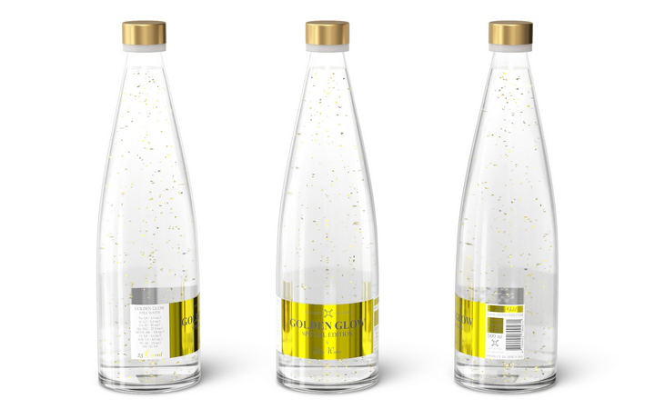 Визуализация бутылочек в рекламных целях