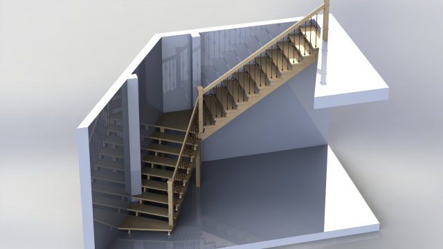 Лестница в особняк