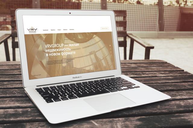 """Создание сайта для группа компаний """"VRVGROUP"""" Германия"""