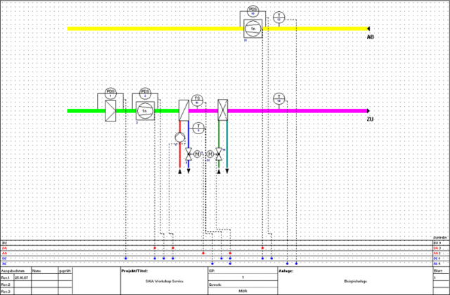 Прикладное программирование контроллеров Saia PCD (HVAC Lib)