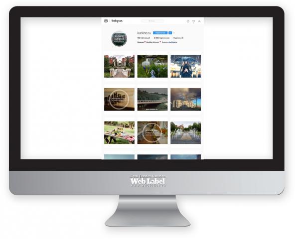 Продвижение инстаграма для официального портала Куркино