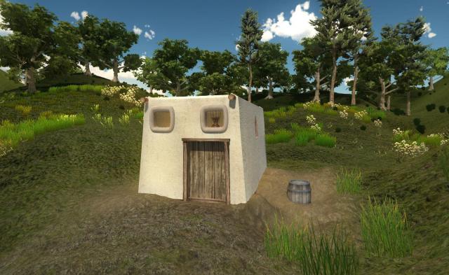 Часть прототипа средневекового города
