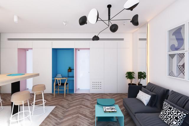 визуализация квартиры, г. Тель-Авив
