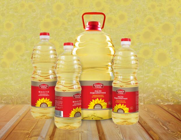 дизайн этикетки подсолнечного масла