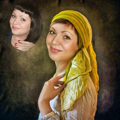 Замена лица, ретушь, обработка в фотошоп