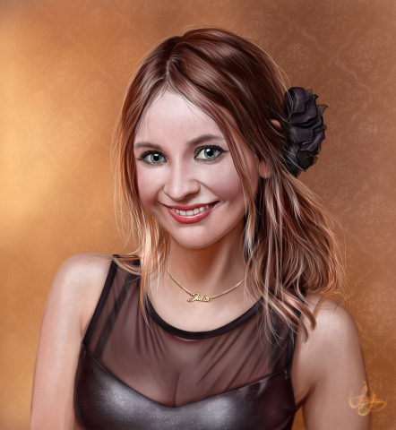 Портрет в стиле Ультра-реализм