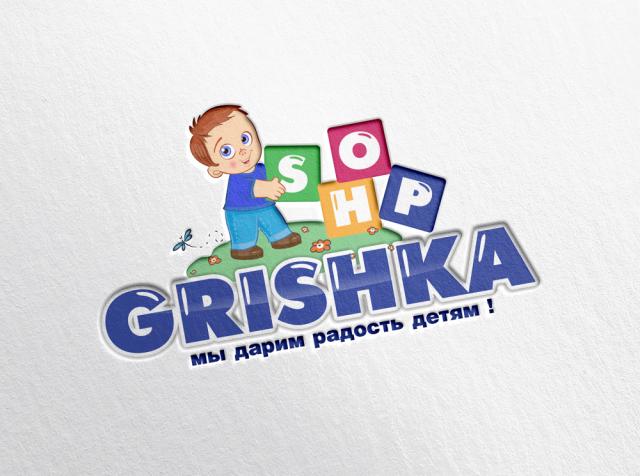 Лого Гришка Шоп