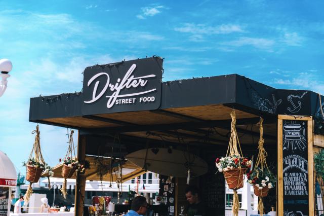 DRIFTER STREET FOOD CAFE/ RUSSIA/ SOCHI