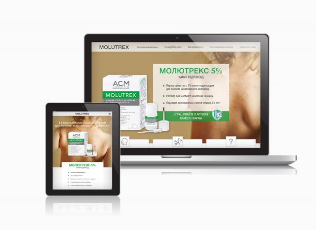Официальный сайт медицинского препарата Molutrex в России
