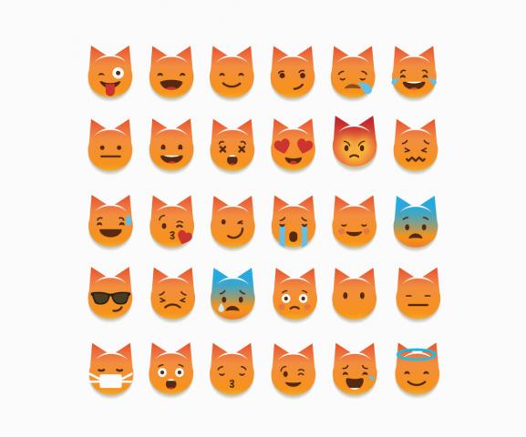 Emoji стикеры для Petshop.ru