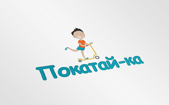 Логотип интернет-магазина самокатов