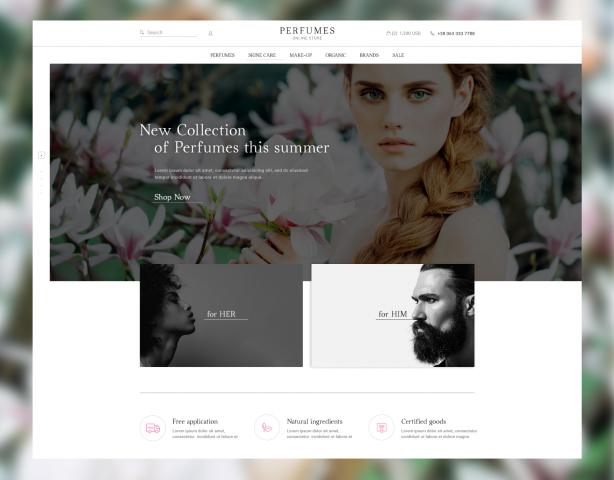 PERFUMES – Интернет-магазин парфюмерии