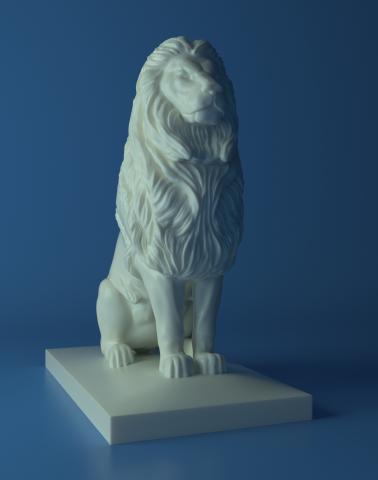 Lion Qasr Al Nile