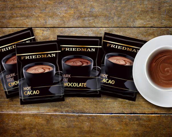 """Дизайн упаковки горячего шоколада """"Friedman"""""""