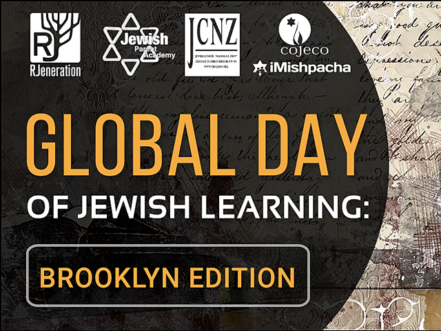 Facebook BANNER |Global Day of Jewish Learning: Brooklyn Edition