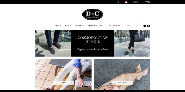 Интернет-магазин D&C