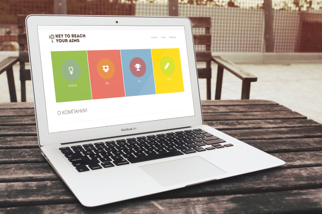 Создание сайта для компании «KPI»
