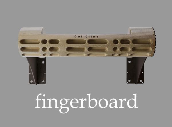 FingerBoard - тренажер для скалолазов