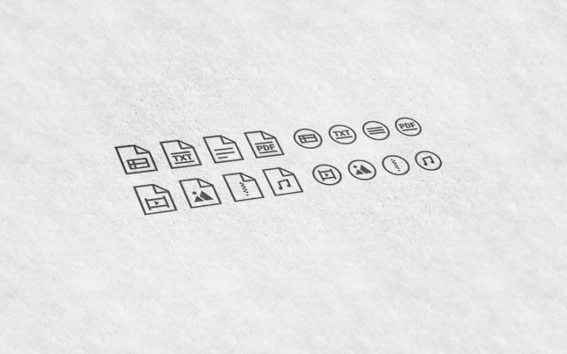Иконки для прикрепленных файлов в cms системы