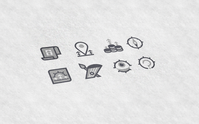 Иконки для портала «Северная широта»