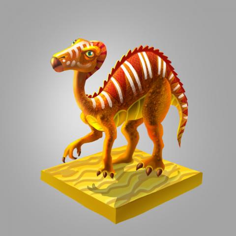 Еще динозавр