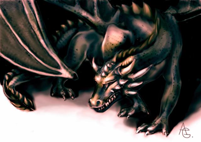 на свет (to the light)  Dragon