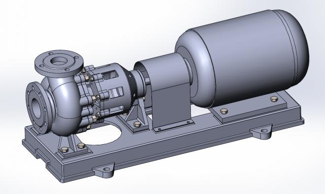 Промышленный дизайн насосного оборудования