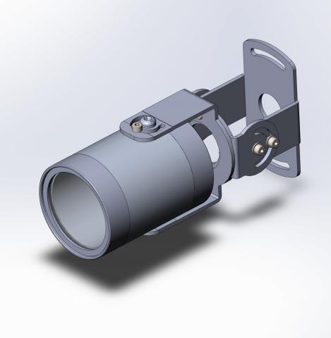 3д модель прожектора освещения