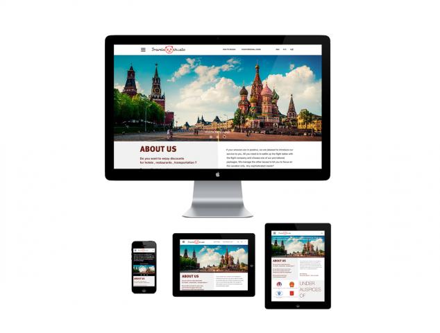 Сайт услуг для туристов