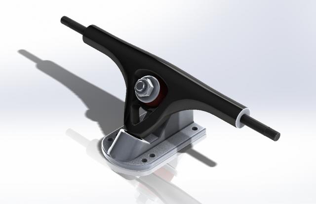 проектировать и оптимизитция грузовик для скейтборда